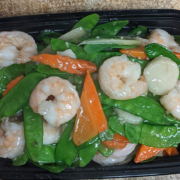 Shrimp with Pea Pods